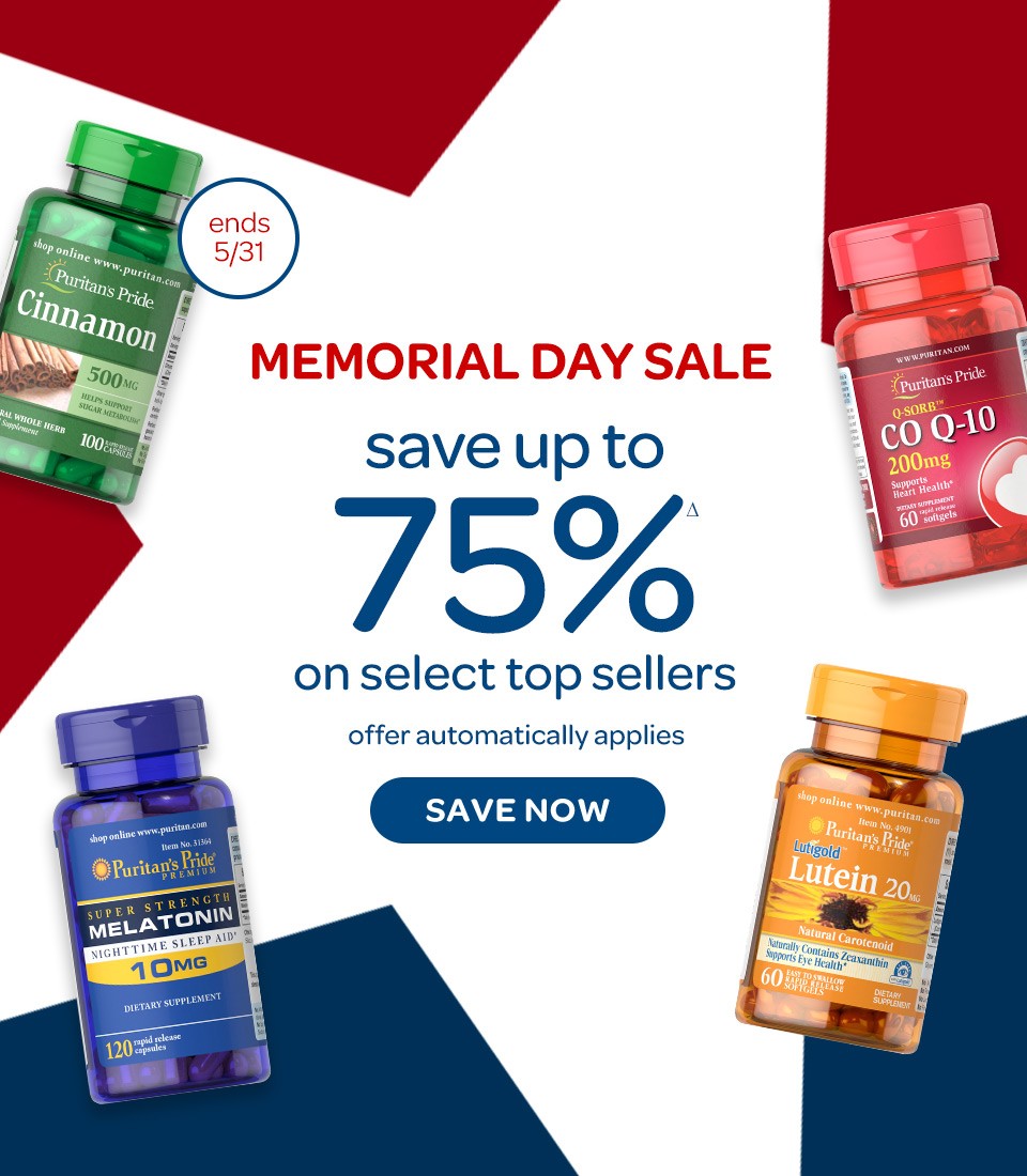 Memorial Day Sale. Save up to 75%Δ on select top sellers. Offer automatically applies. Ends 5/31/2021. Save now.